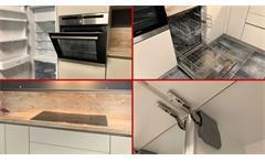 Einbauküche Nobilia Ausstellungsküche Küche in Savanne 335 inklusive E-Geräte
