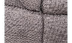 Ecksofa Anna Wohnlandschaft Sofa in beige grau Recamiere rechts 286x186 cm