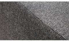 Hocker Polsterhocker Sitzhocker Fortuna NovaSpring Federkern Stoff grau 93x77 cm