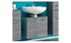 pelipal hochschrank alika badm bel in graphit grau inkl t rd mpfer. Black Bedroom Furniture Sets. Home Design Ideas