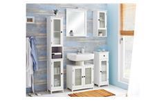 Pelipal Badezimmer Maxim Badmöbel Komplettset in weiß inkl. Spiegel 5-teilig