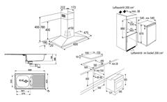 Einbaugeräteset 1 Küchen Elektrogeräte 5-teiliges Geräteset ohne Geschirrspüler