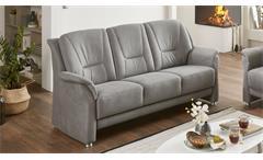 Sofa PEDINA 3-Sitzer Polstersofa Couch Feeling grau 198 cm