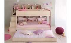 Bettschubkasten Bibop in Akazie Dekor für Etagenbett als 3. Liegefläche nutzbar
