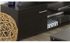 TV-Lowboard Infinity TV Board in Kaffee braun Phonomöbel Fernsehtisch Wohnzimmer
