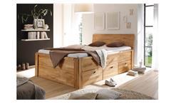 Bett Jalas Bettgestell Schlafzimmerbett in Wildeiche massiv geölt 140x200 cm