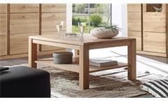 Couchtisch Terano Wohnzimmertisch Tisch in Wildeiche bianco teilmassiv 110x70 cm