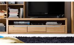 TV-Board 2 Florenz Wildeiche bianco massiv geölt und gewachst Softclose