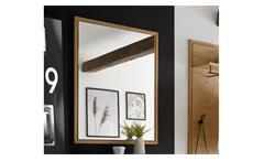 Spiegel Garderobe LISSABON Wildeiche Bianco massiv 70x2