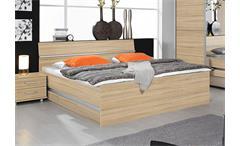 Bett APULIEN Schlafzimmerbett in Sonoma Eiche Sägerau 160