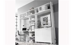 Regalkombi MYLOFT Büro Regal in weiß Dekor Breite 289 cm