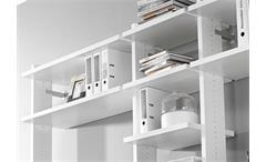 Regkombi Myloft Büro Regal Weiß B 289 cm