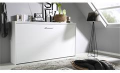 Schrankbett Albero weiß 90x200 cm Klappbett Kinderbett