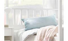 Schlafzimmer-Set 4 Marit Bett Kleiderschrank Kommode weiß 180x200 cm