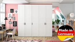 Kleiderschrank YourJOYce Schrank Schranksystem im Landhaus Stil in weiß 300 cm