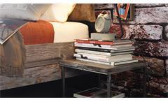 Bett Timberstyle Bettgestell graphit Sunwood antik braun Vintage Shabby 180x200