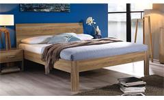 Futonbett Flexx Bett Bettgestell Doppelbett Schlafzimmer Eiche Sonoma 140x200 cm