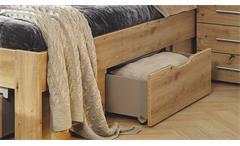 Bett Doppelbett Flexx in Eiche Artisan Dekor inkl. Bettschubkästen 180x200 cm