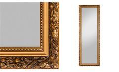 Rahmenspiegel PIUS antik goldfarben Wandspiegel 50x150 cm