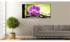 Deko Panel GRAP Wandbild Motiv Orchidee rosa 50x100 cm