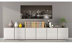 Deko Panel PARMA Wandbild Motiv NY at night 50x125 cm