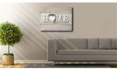 Deko Panel JAD Wandbild Motiv Home 68x98 cm