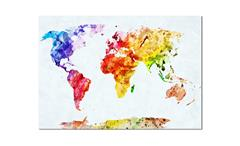 Deko Panel Jad Wandbild Motiv Colorful World Bild Dekobild 68x98 cm