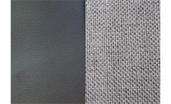 Hocker Moon Polsterhocker in schwarz und grau inkl. Bettkasten 152x85