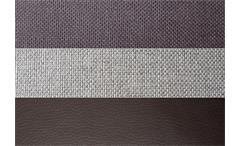 Ecksofa Zenzo Eckgarnitur in braun und grau inkl. Kissen Rec rechts 303x175