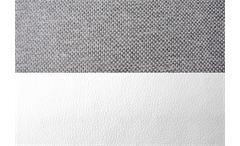Ecksofa Solo Eckgarnitur in weiß und grau inkl. Bettkasten Rec rechts 300x205