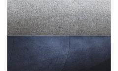 Ecksofa Zenzo Eckgarnitur in grau dunkelgrau inkl. Kissen Rec rechts 303x175