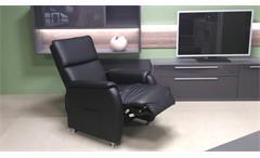Fernsehsessel Relaxchair Heimkino Cinema Sessel schwarz mit Liegefunktion