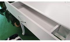 Schminkkommode Frisiertisch mit Spiegel Aufbewahrung in Weiß