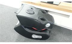 Soundsessel Gamingstuhl Multimediasessel Speedy Bluetooth schwarz Mesh rot