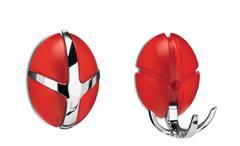 Garderobe TICK Spinder Design Transparent Rot