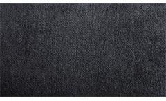 Ecksofa Björn in Stoff anthrazit mit Nosagfederung Metallfüße Chrom 256x192 cm
