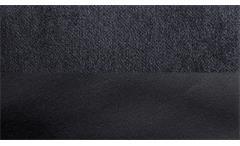 Ecksofa Bangkok Eckgarnitur Stoff anthrazit und schwarz mit Federkern 268x178 cm