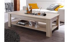 Couchtisch Rustica II Tisch in Sonoma Eiche Melamin Breite 140 cm