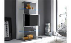 TV-Turm PRIMO anthrazit echt hochglanz lackiert