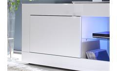 TV-Element Basic Lowboard Kommode weiß lackiert B 140 cm