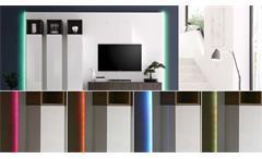Paneel Beleuchtung Wohnwand CUBE RGB LED 16 Farben