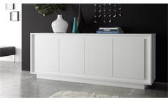 Sideboard SKY Kommode in weiß matt inklusive Softclose