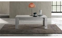 Couchtisch Land Wohnzimmertisch Beistelltisch Tisch in Weißeiche 122x65 cm
