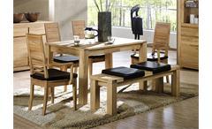 Esstisch PAUL Tisch in Kernbuche massiv Breite 140 cm