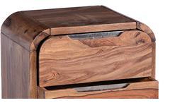Rollcontainer Goa von SIT Rollwagen Rollschrank Sheesham Holz massiv