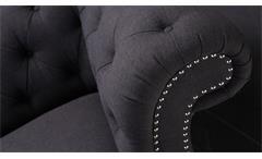 Sofa Sit4Sofa 3-Sitzer in Stoffbezug dunkelgrau B 240 cm