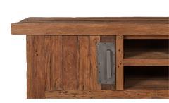 Lowboard Coral TV-Board Unterteil HiFi recyceltes Teak natur Massivholz 160 cm