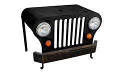 Schreibtisch THIS THAT Metall schwarz lackiert Jeep Front