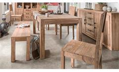 Esszimmerset Sanam Sheeshamholz Tischgruppe Komplett-Set SIT Möbel 6-teilig