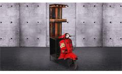 Barschrank Curtis Altholz bunt Weinschrank recycelte Front Vespa Roller rot SIT Möbel